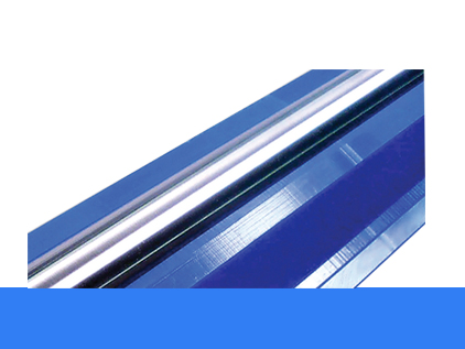 Blue metering rod bed